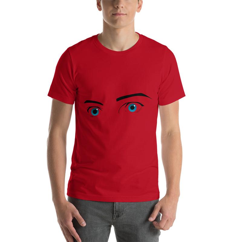 Casanova Eyes Short-Sleeve Unisex T-Shirt