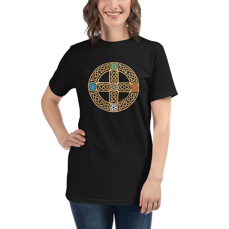 Solar Cross Organic T-Shirt