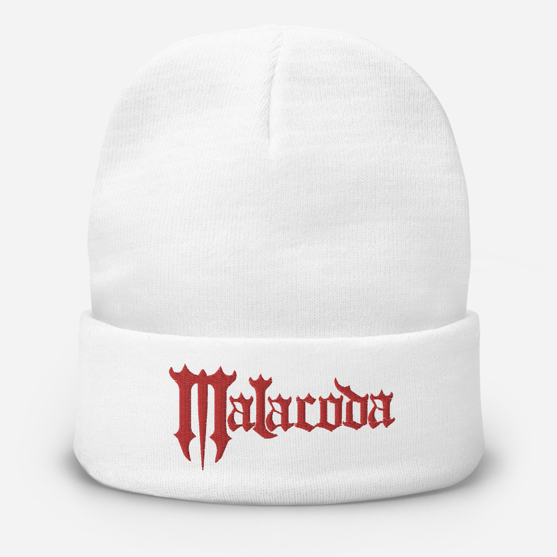 Malacoda Embroidered Beanie