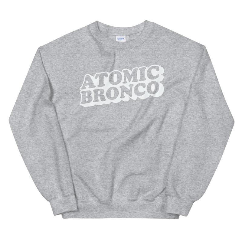 Atomic Bronco White Logo Sweatshirt