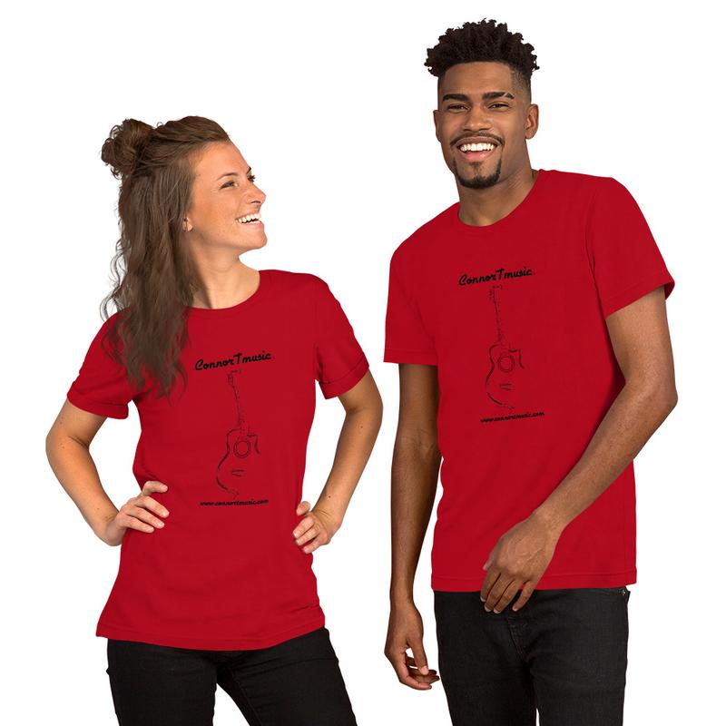 ConnorTmusic T-Shirt with Black Logo!
