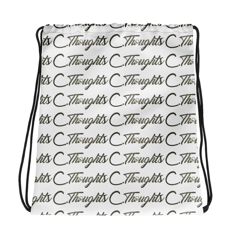 C.Thoughts Logo Drawstring bag