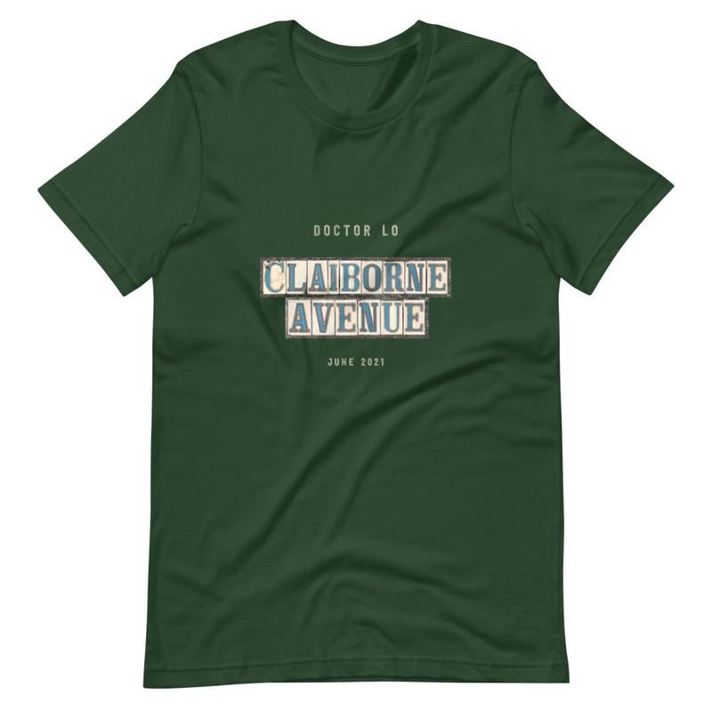 """Doctor Lo """"Claiborne Avenue"""" T-Shirt"""
