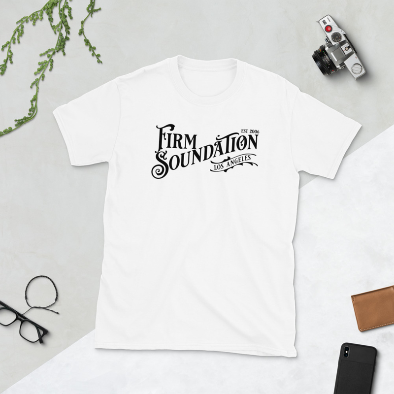 Firm Soundation Est Wordmark (White)