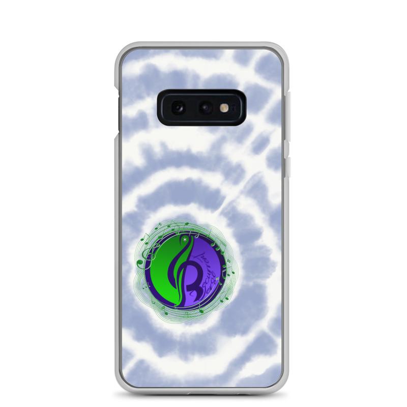 Samsung Tie Dye Logo Case Blue