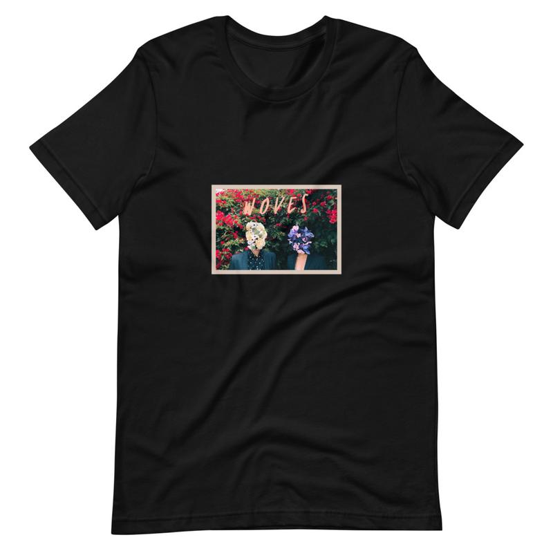Short-Sleeve Unisex T-Shirt (Woves - Flowers)