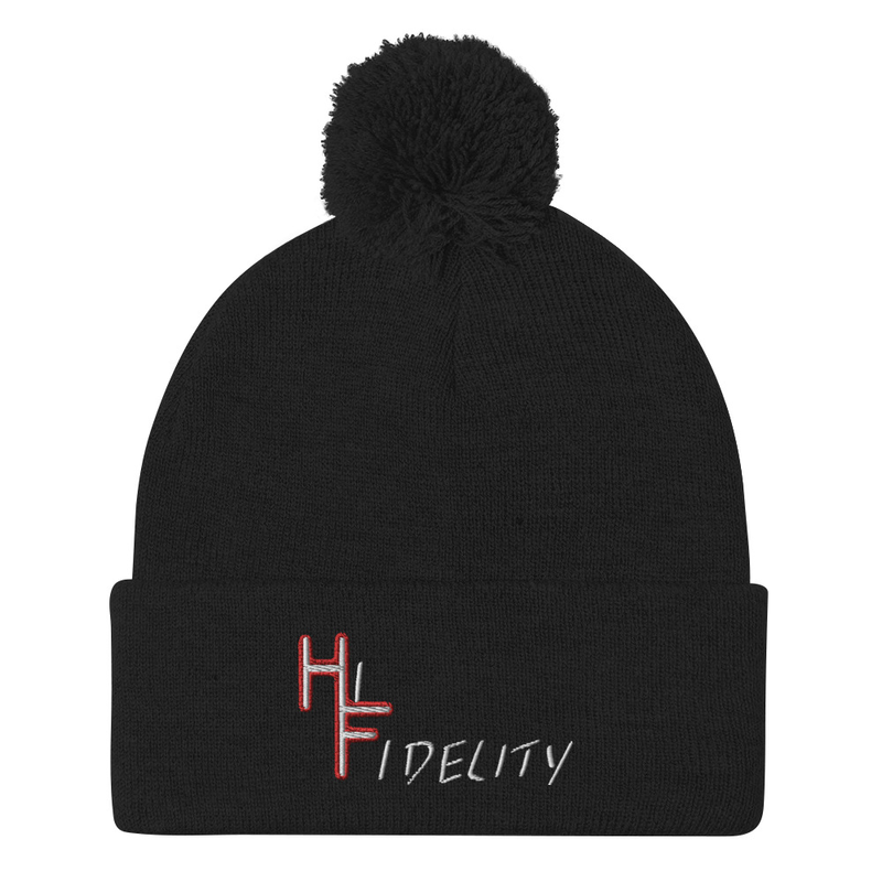 Hi Fidelity Logo Beanie