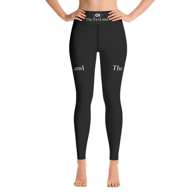 The EyeLand Yoga Leggings Black