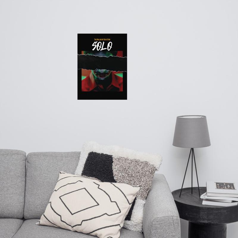 SOLO Album Cover Poster