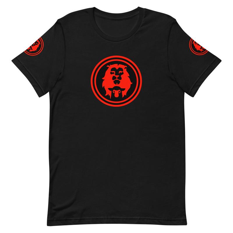 Lion & Lamb (Blood Red Edition) Unisex T-Shirt