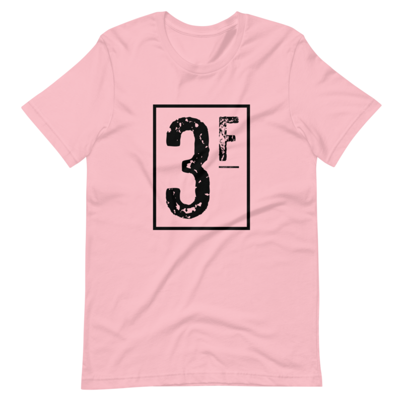 3Faces T-Shirt | Black Logo