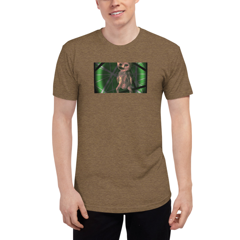 Tri-Blend T-Shirt with doll