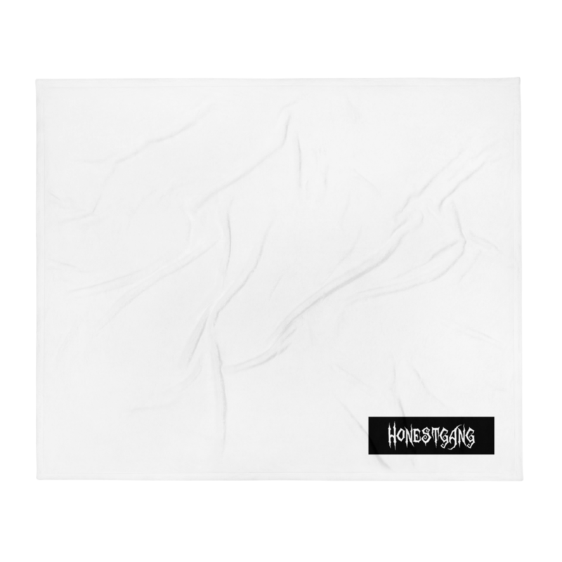 HONESTGANG Box Logo Blanket