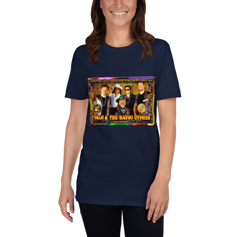 Short-Sleeve Unisex MOJO BAND T-Shirt