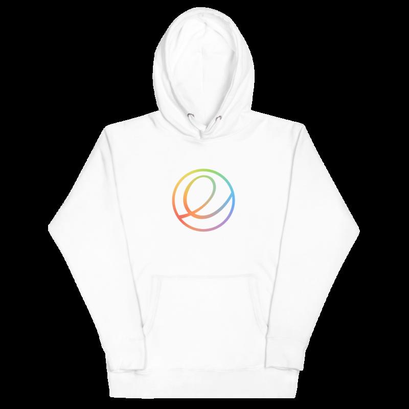 Rainbow Logomark Hoodie - Unisex (Seasonal)