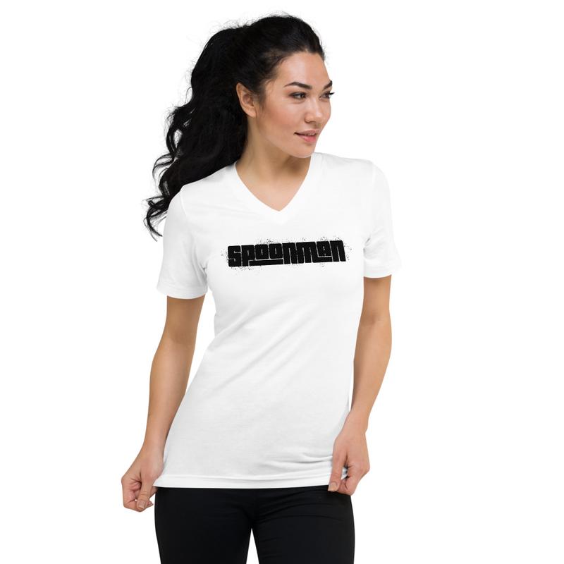 sPoonman Unisex Short Sleeve V-Neck T-Shirt