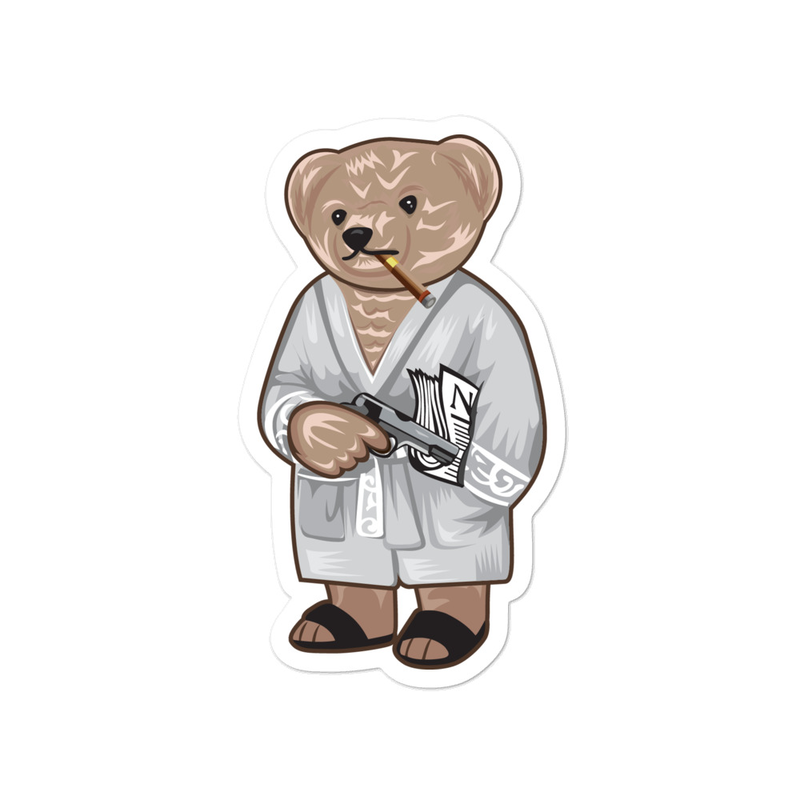 Tony Bear stickers
