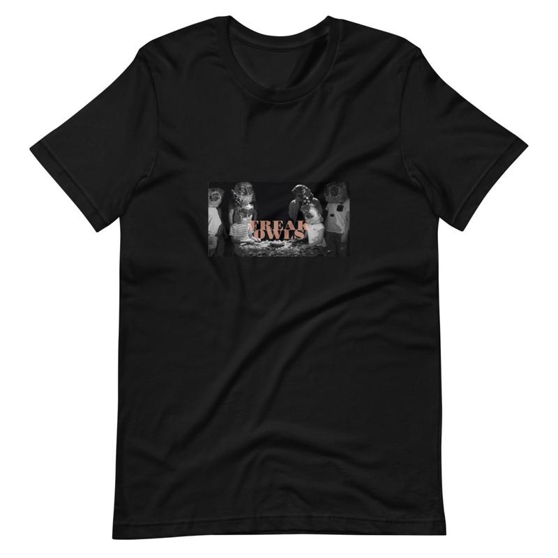 Short-Sleeve Unisex T-Shirt (Freak Owls - Birthday Party)