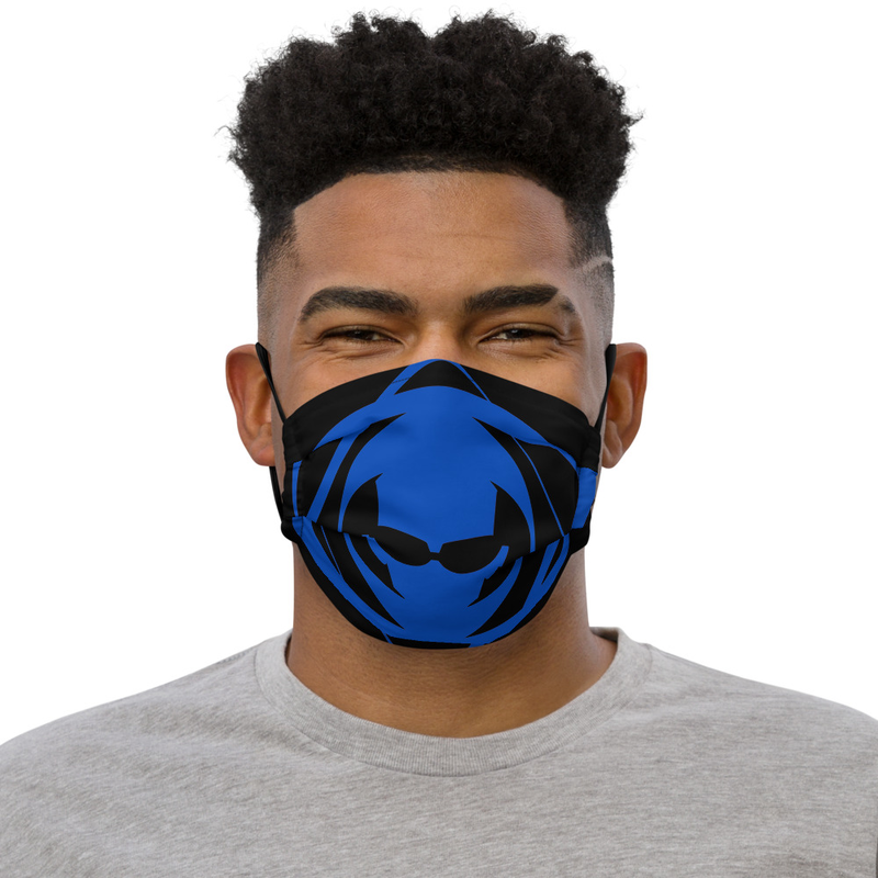 Blue Iso face mask