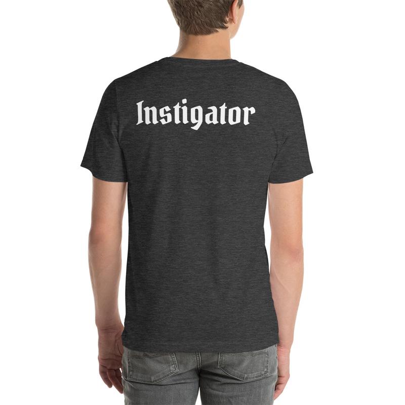 Instigator Back/Logo Front Tee