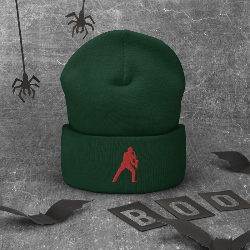 Sax Man Cuffed Beanie (Available in more colors)