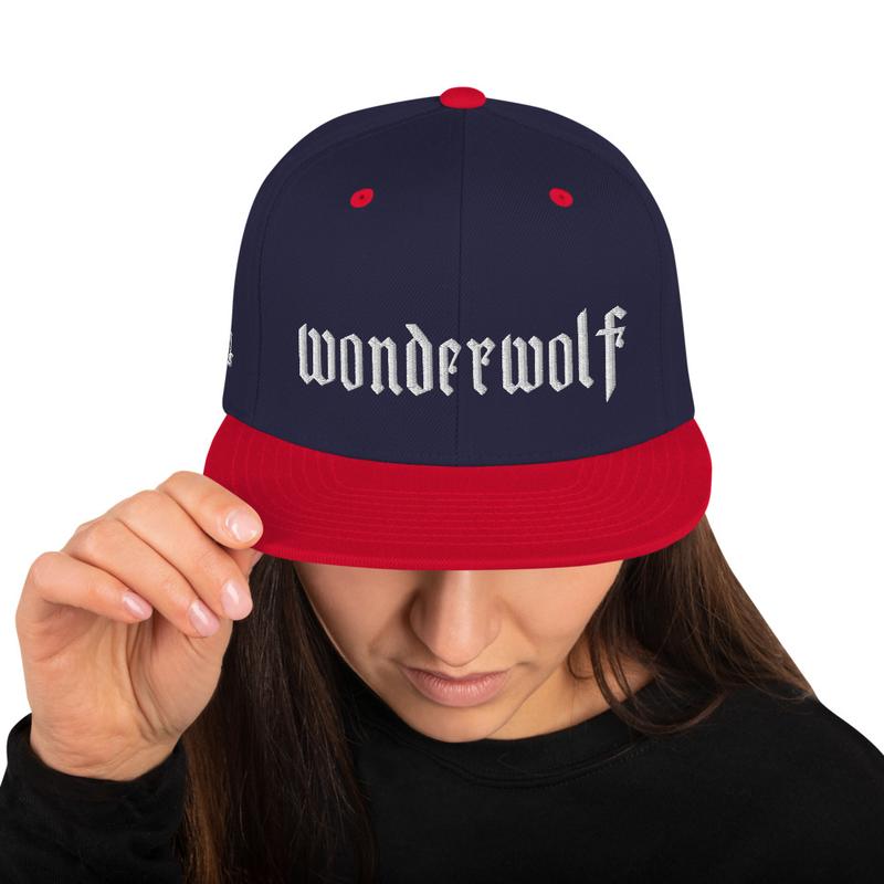 Snapback Hat - WONDERWOLF