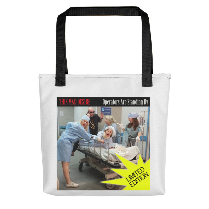 OPERATORS ARE STANDING BY Tote bag