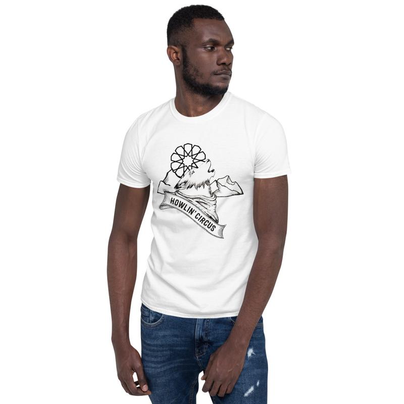 Short-Sleeve Wolf Howlin' Circus Unisex T-Shirt