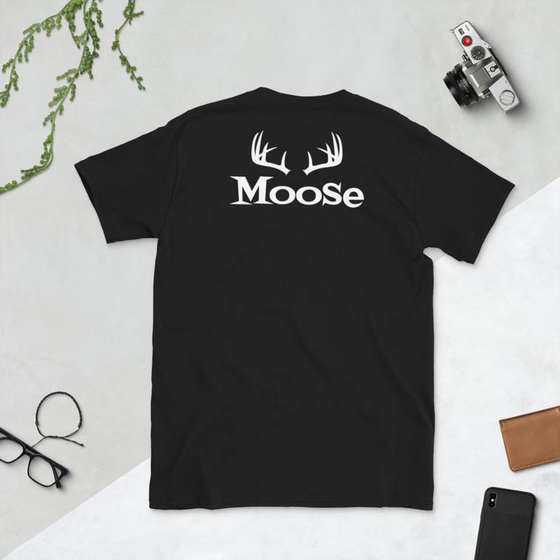 Moose Back/Logo Front T-Shirt