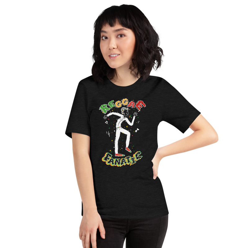 Reggae Fanatic Short-Sleeve Women T-Shirt