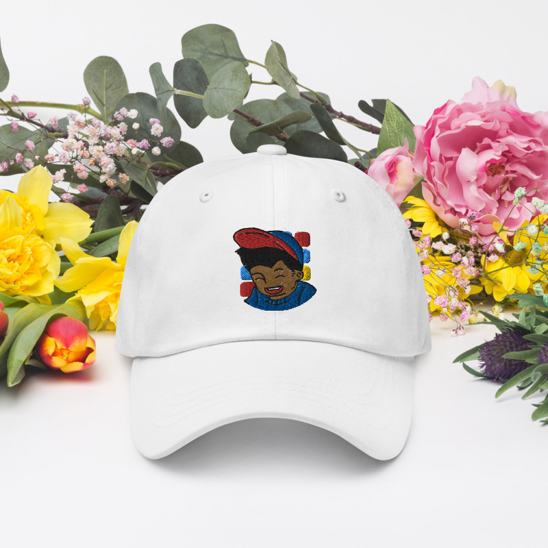 Dad Hat White | My Dad Makes Beats