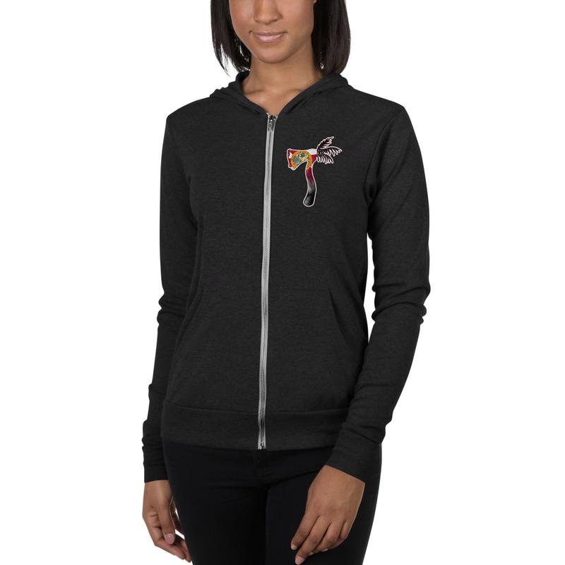 Unisex NEW Palmahawk zip hoodie