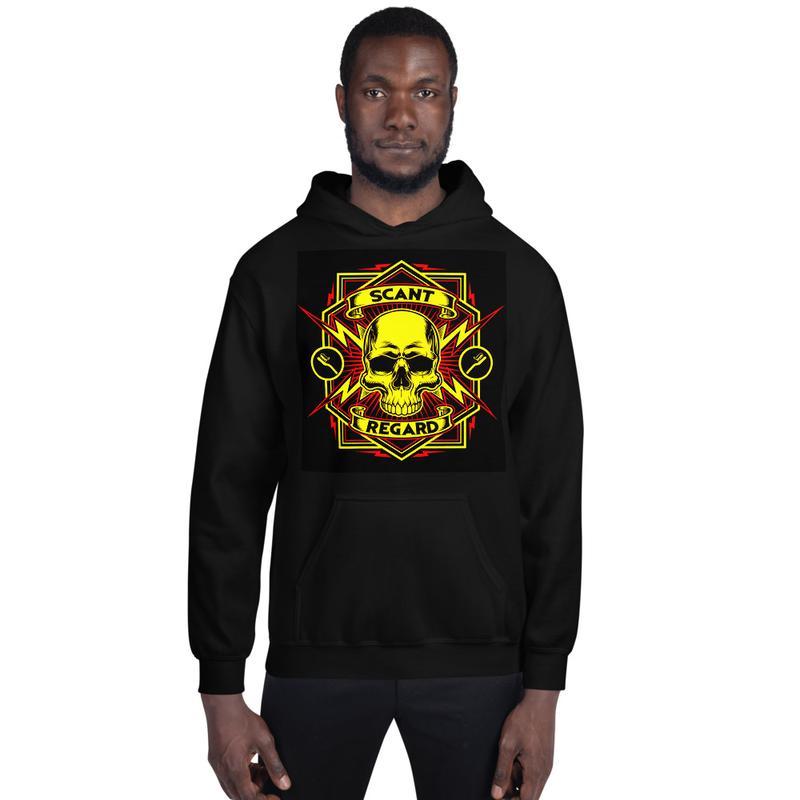 Lightning Skull Hoodie