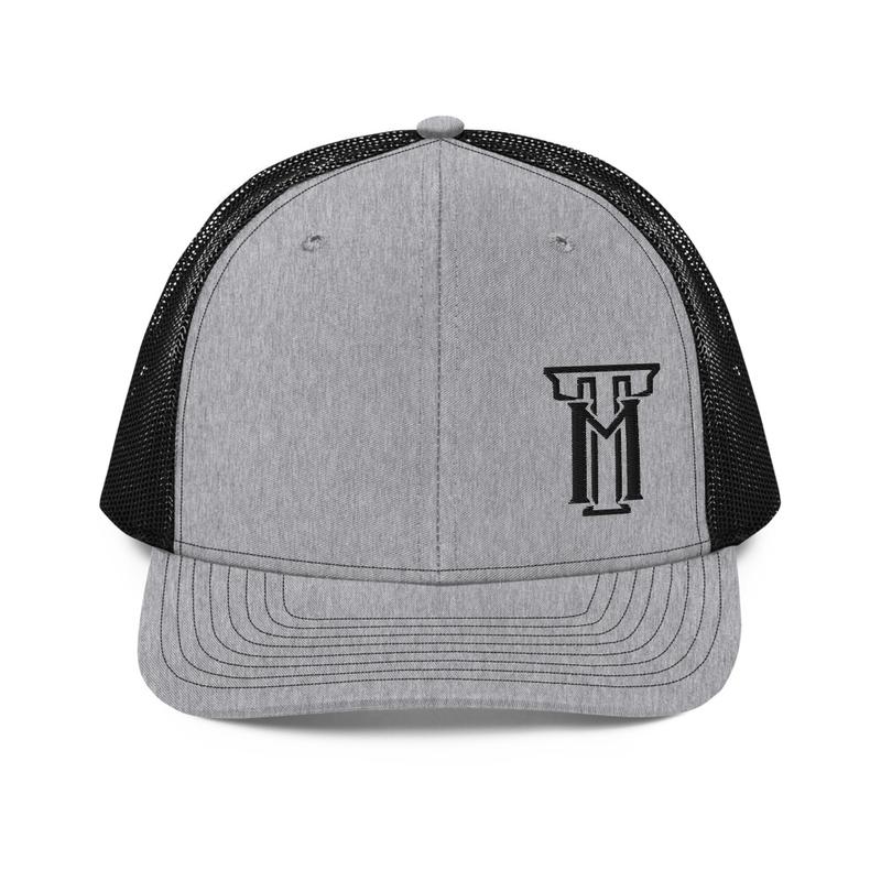 TM Black/Gray Trucker Cap