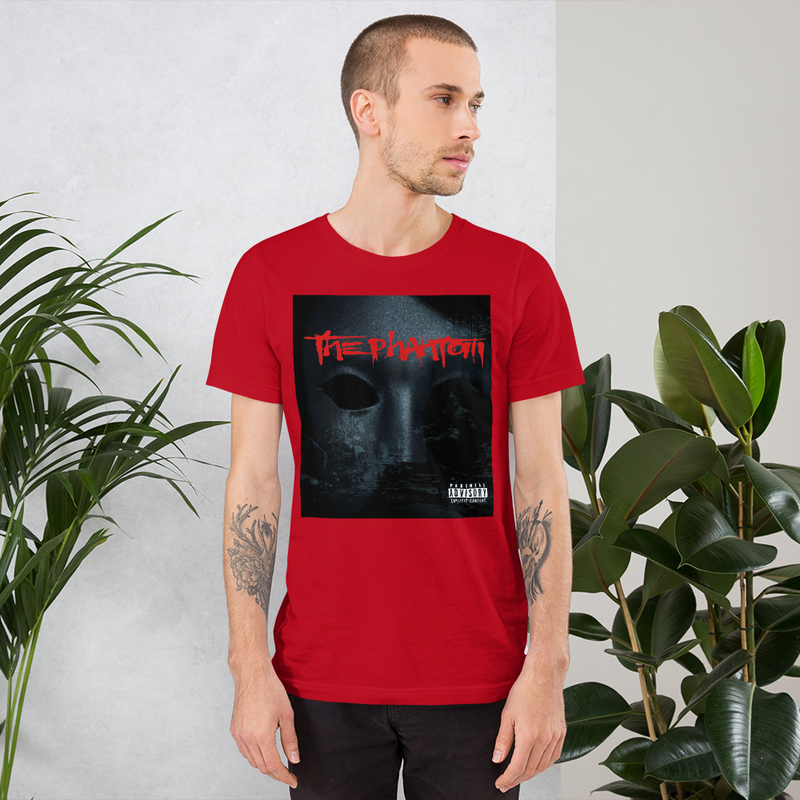 The Phantom Album Cover Short-Sleeve Unisex T-Shirt