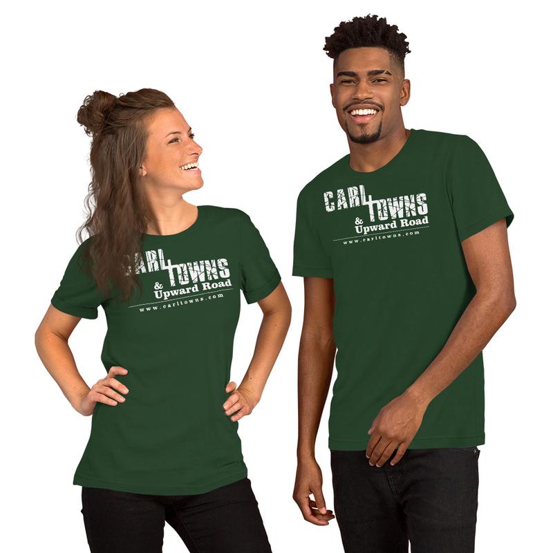 Carl Towns White Logo - Short-Sleeve Unisex T-Shirt