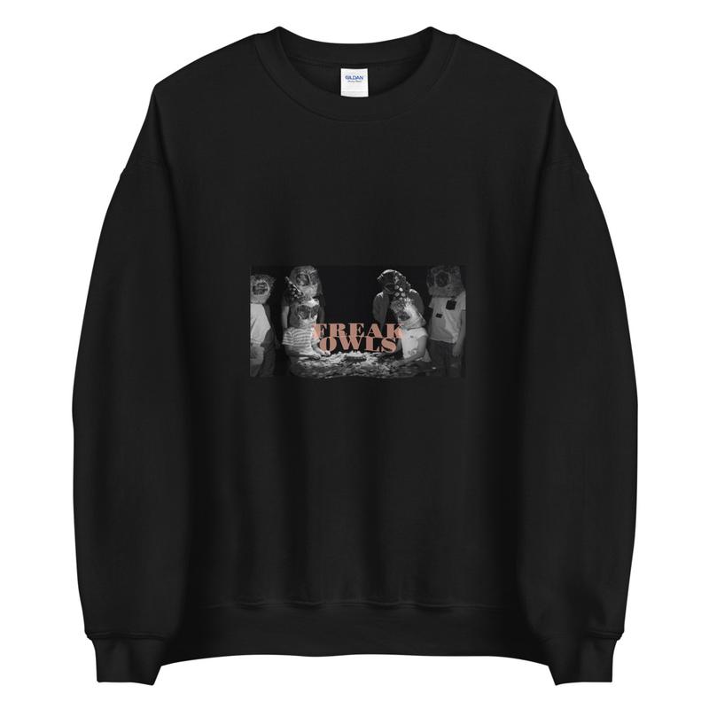 Unisex Sweatshirt (Freak Owls - Birthday Party)
