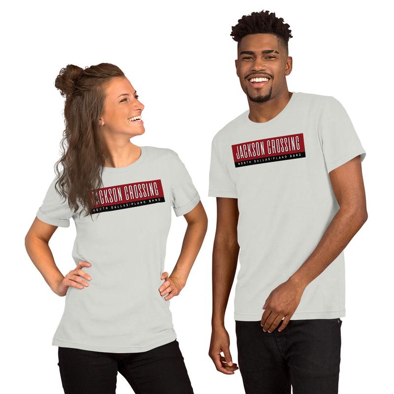Unisex T-Shirt Text Logo - 3 Colors