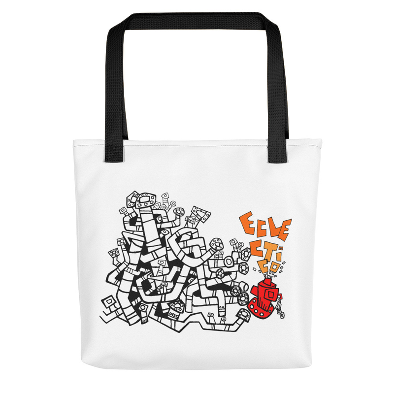 "Tote bag ""Eclectico Art Cover"""