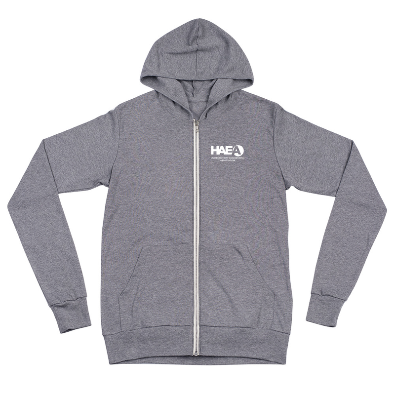 Apparel - Stand Up For HAE Unisex zip hoodie