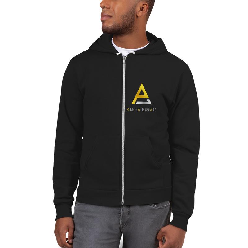 Alpha Zip Up Hoodie Sweater