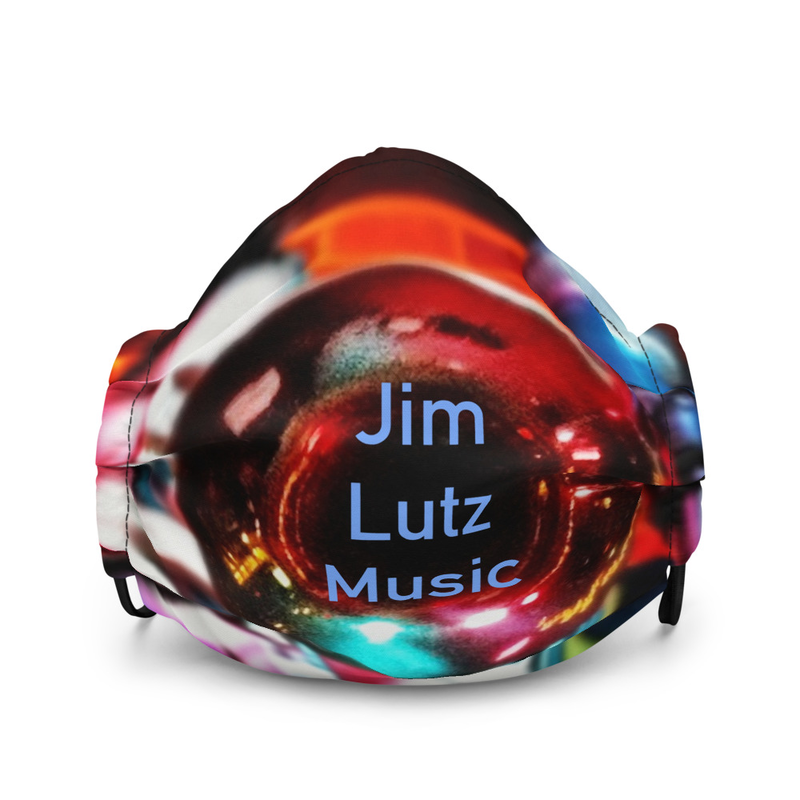 Jim Lutz Music - Premium face mask