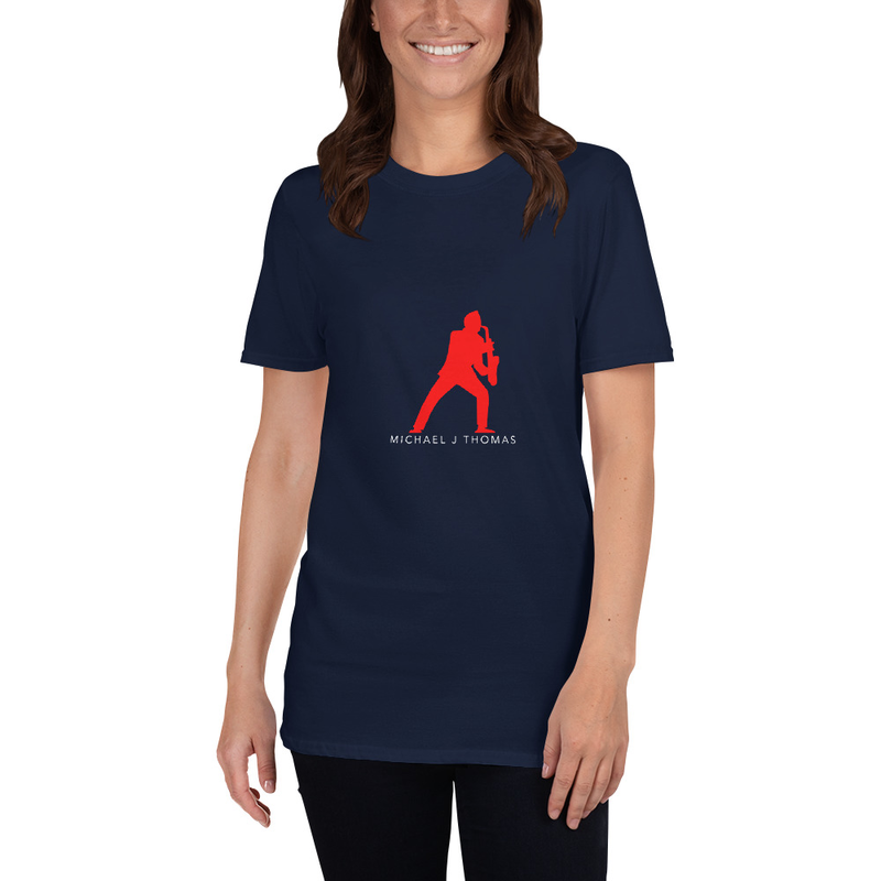 Sax Man Short-Sleeve Unisex T-Shirt (available in more colors)