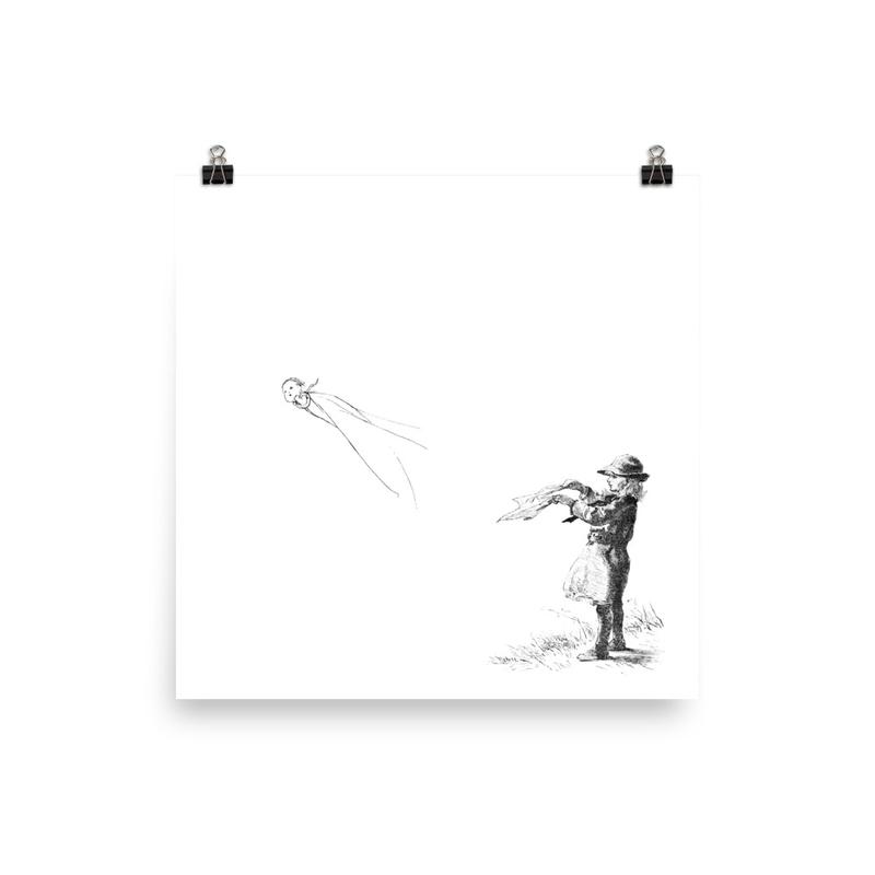 On the Lake - Square Album Art Poster