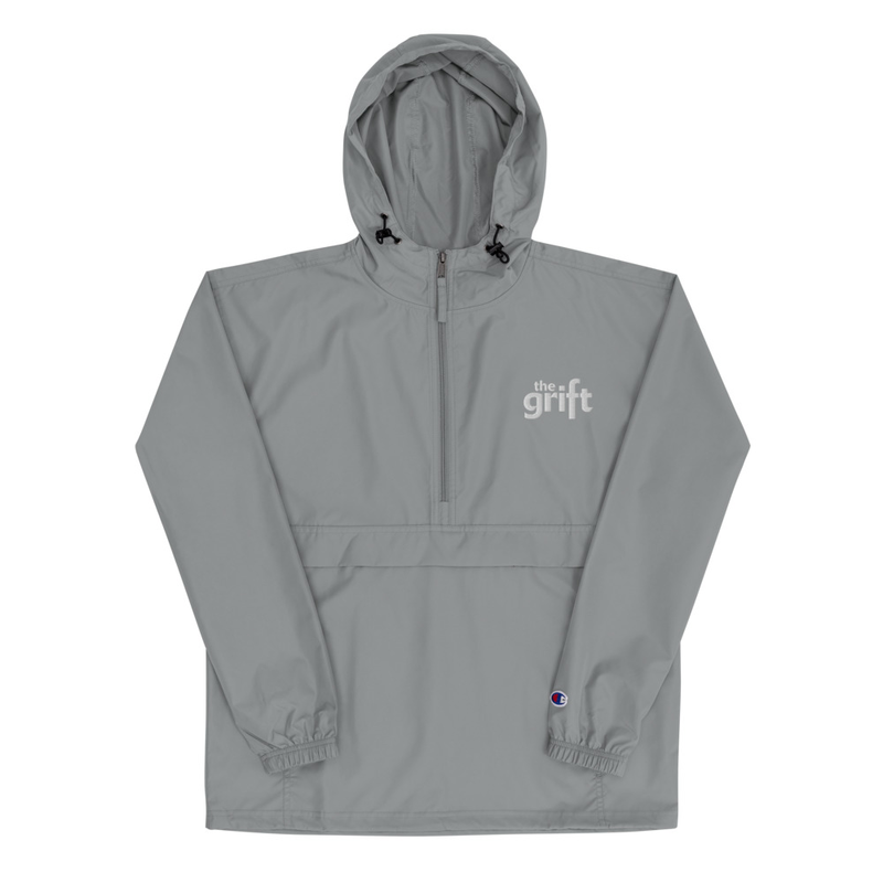 CLASSIC LOGO Embroidered Champion Packable Jacket
