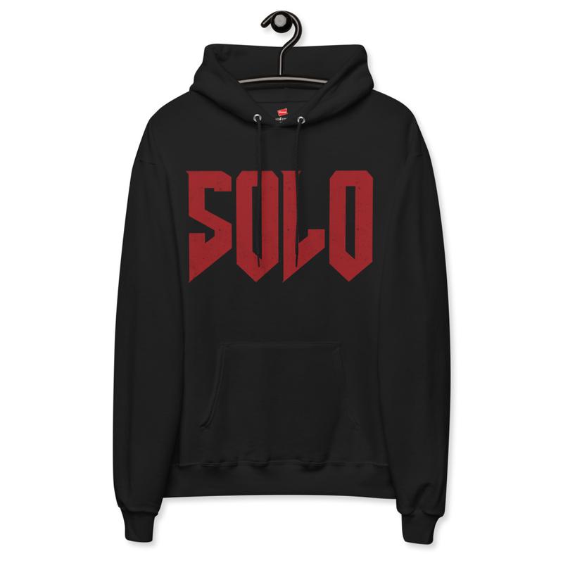 """""""SOLO"""" Official fleece hoodie"""
