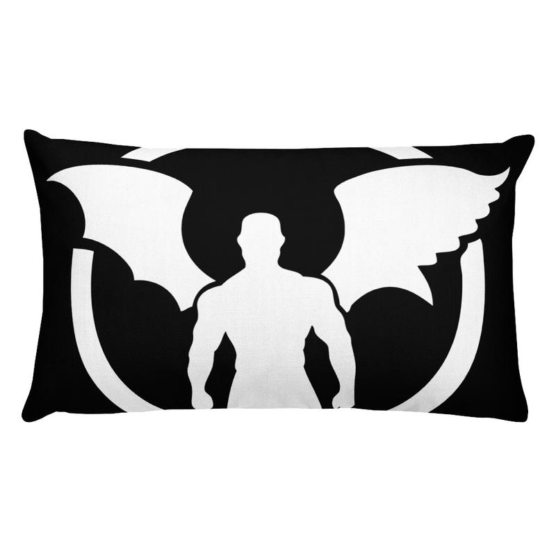 """""""TD"""" Standing Man Logo Premium Pillow"""