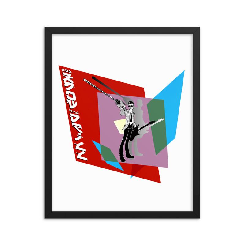 Drill Framed poster