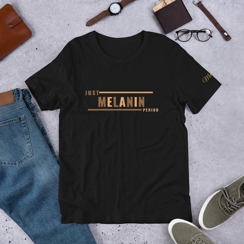 Just Melanin PERIOD Short-Sleeve Unisex T-Shirt