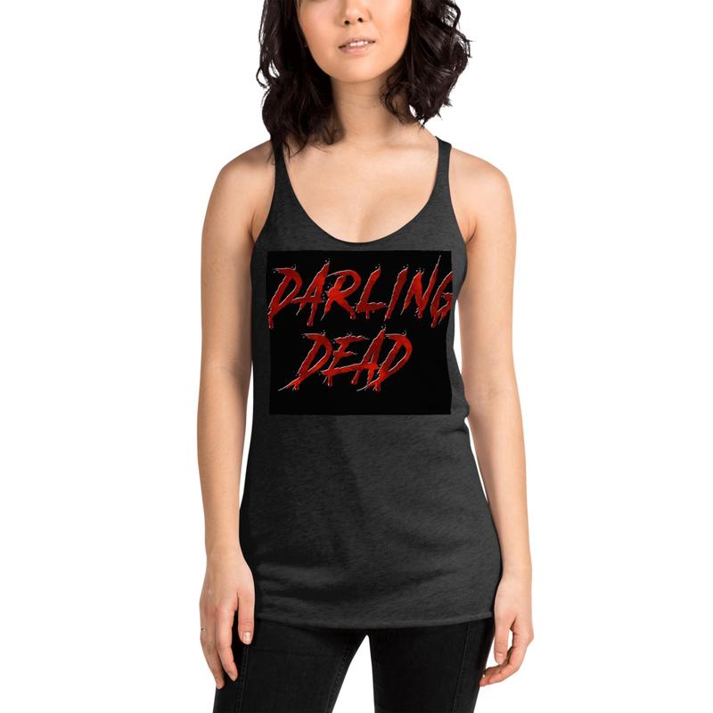 Darling Dead logo Women's Racerback Tank